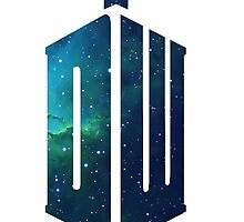 Galactic Doctor Who Logo by littlelionbabe