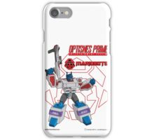 OptiSNES Prime: Leader of the Mariobots! iPhone Case/Skin