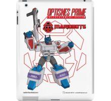 OptiSNES Prime: Leader of the Mariobots! iPad Case/Skin