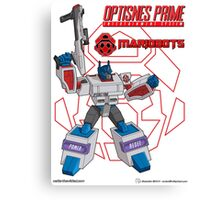 OptiSNES Prime: Leader of the Mariobots! Canvas Print