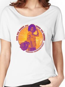 Pam Grier - KICK ASS FLICKS with BADD ASS CHICKS Women's Relaxed Fit T-Shirt