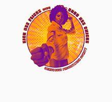 Pam Grier - KICK ASS FLICKS with BADD ASS CHICKS Unisex T-Shirt
