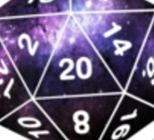 Galactic D20, version 2 Sticker