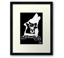The Marauders (White) Framed Print
