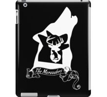 The Marauders (White) iPad Case/Skin