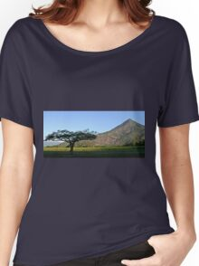 Rural landscape Women's Relaxed Fit T-Shirt