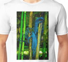 Bamboo and Blue String Unisex T-Shirt