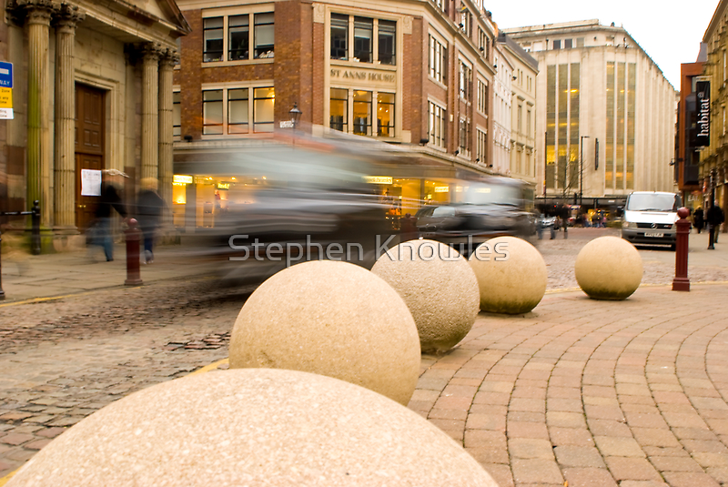 Manchester city centre by Stephen Knowles