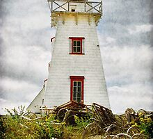 North Rustico Lighthouse, PEI by Amanda White