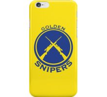 Golden Snipers (Guns) iPhone Case/Skin