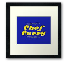 Chef Curry! Framed Print
