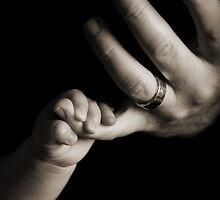 Hold my Hand Dad by abfabphoto