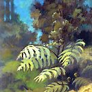 Silver Fern - Ponga by Patricia Howitt