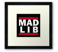Run LIB Framed Print