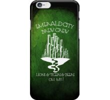 Emerald City Brew Crew iPhone Case/Skin