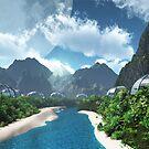 Jungle Stream by Steve Davis