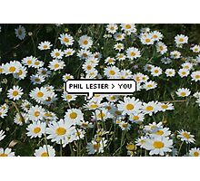 Phil Lester > You Photographic Print