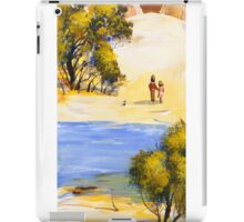 Down by the creek iPad Case/Skin