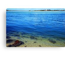 Ocean Layers Canvas Print