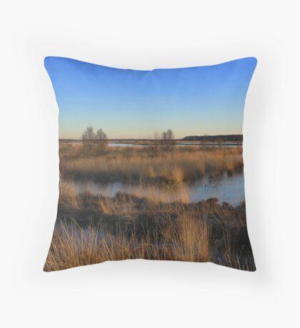 Landscape *Fochteloerveen* Throw Pillow
