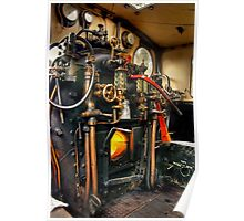 Footplate detail Poster