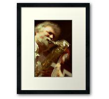 Evan Parker Framed Print