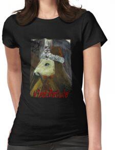 Rat Rodent Dracula Vampire T-shirt! Womens Fitted T-Shirt