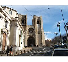 Church in Lisbon Photographic Print