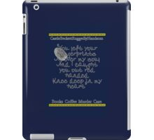 Finger prints all over iPad Case/Skin