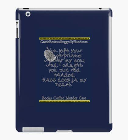Finger prints all over iPad Case/Skin