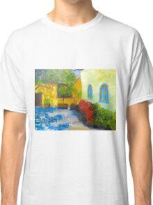 Tuscany Courtyard 2 Classic T-Shirt