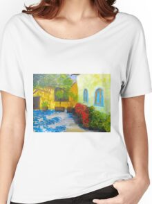 Tuscany Courtyard 2 Women's Relaxed Fit T-Shirt