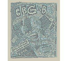 cbgb flyer Photographic Print
