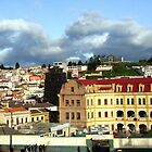 Overlooking Old Quito by Laurel Talabere