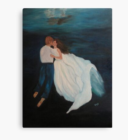 Under Water Wedding Canvas Print