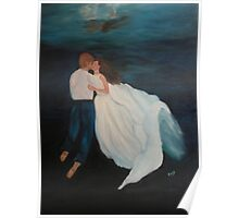 Under Water Wedding Poster