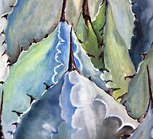Blue Arizona Agave by CJ Rider