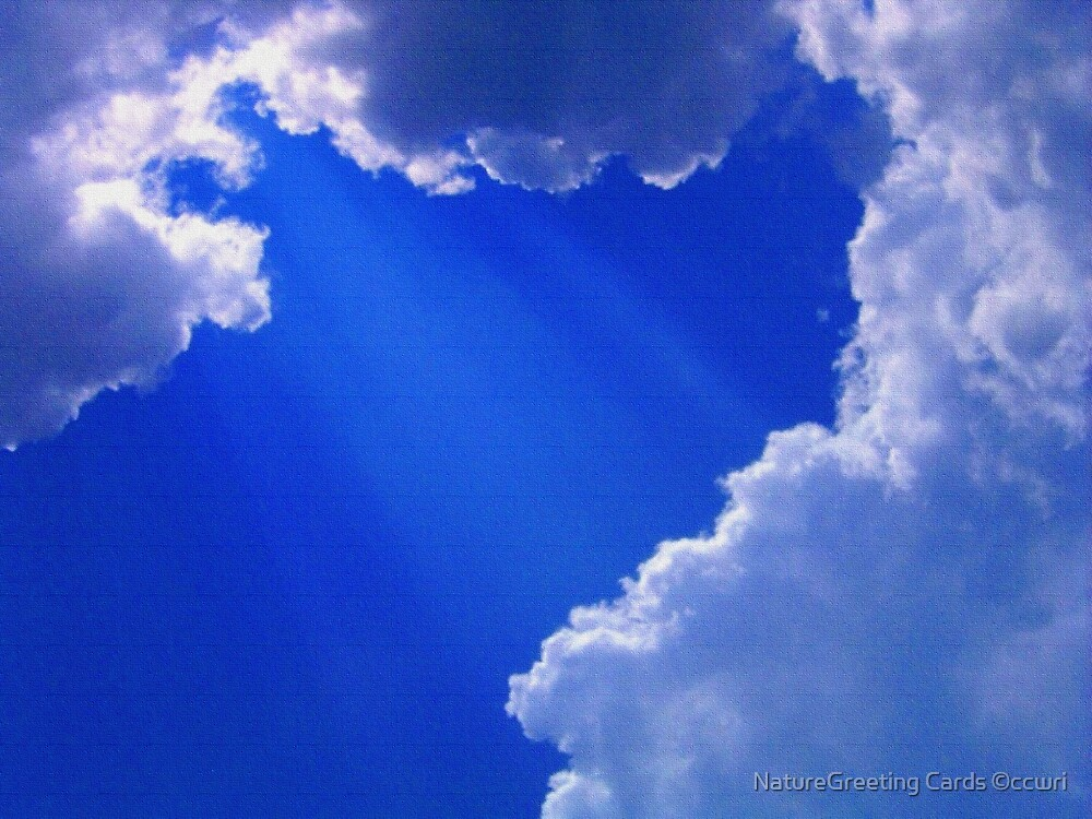 From My Cloud To Yours  by NatureGreeting Cards ©ccwri