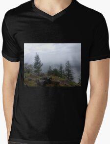 Spenser Butte Mens V-Neck T-Shirt