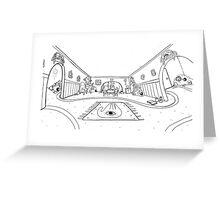 Mystic Pen and ink magic  Greeting Card