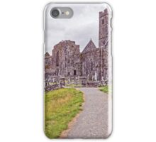 Quin Friary, Clare, Ireland iPhone Case/Skin