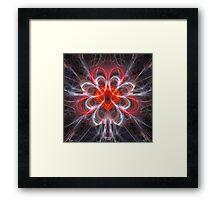 'Heart Repair (Transfusion of Love)' Framed Print