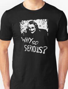 HEATH LEDGER JOKER BATMAN DARK KNIGHT DVD T-Shirt