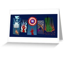 The Avengers - Avengers Assemble Greeting Card