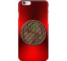 Virgo & Tiger Yang Earth iPhone Case/Skin