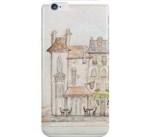 European Street, England Scene  iPhone Case/Skin