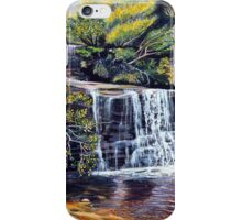The Cascades, Blue Mountains iPhone Case/Skin