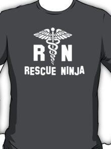 RN Rescue Ninja Nurse  T-Shirt