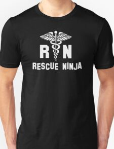 RN Rescue Ninja Nurse  T-Shirt
