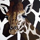 Giraffe on Giraffe by Sooty6